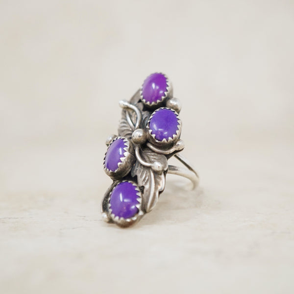 Sterling Silver Grapevine Ring