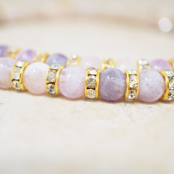 Amethyst Rondelet Necklace