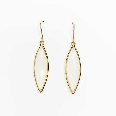Marquise Earrings (Gold Filled)