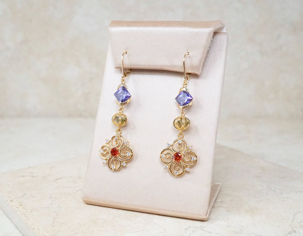 Amelia Dangle Earrings