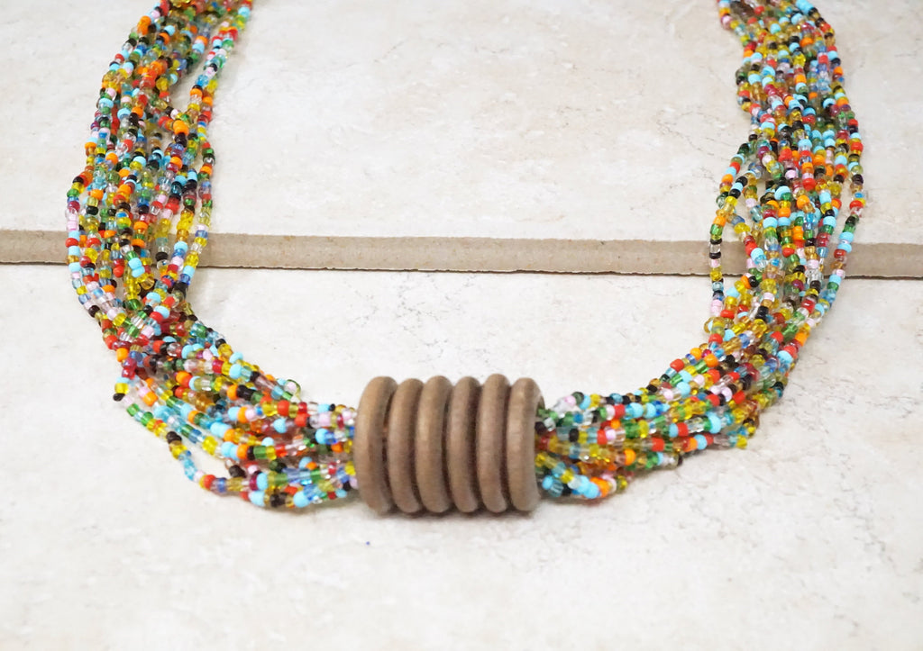 Nadya Seed Bead Necklace