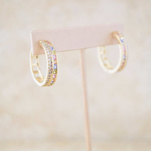 Mia Hoop Earrings