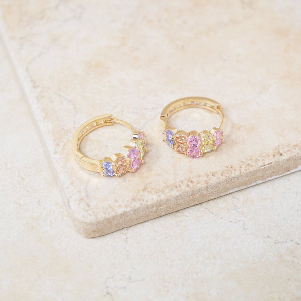 April Hoop Earrings