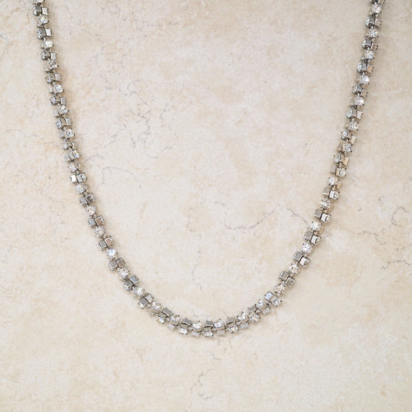 Rhinestone Dazzle Necklace