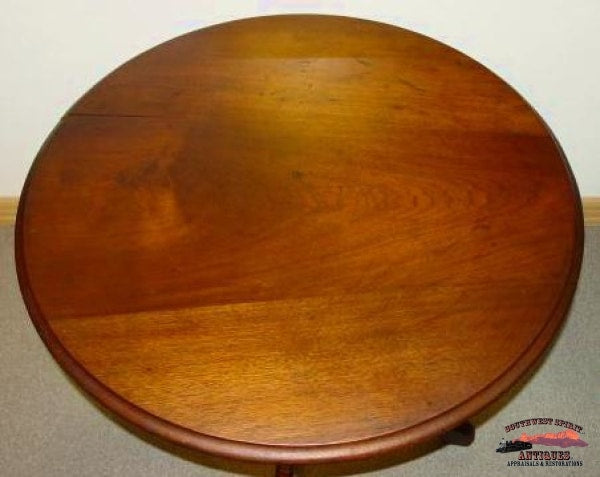 1880S Mahogany Round Parlor Table Furniture
