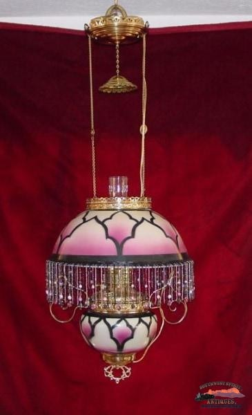 1900S Art Deco Style Pittsburgh Lamp Co. Parlor General Store & Lighting