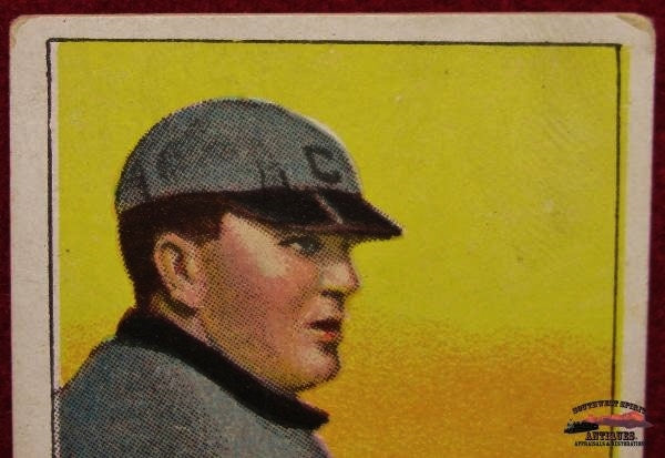 1909 Cy Young, Bare Hand, No. 25, T206 Piedmont Cigarette Baseball Card