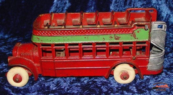 1920S Kenton Double-Decker Bus Collectibles-Toys-Games