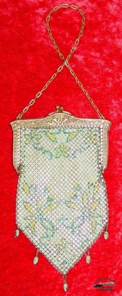 1920S Mandalian 5 Drop Mesh Purse Collectibles-Toys-Games