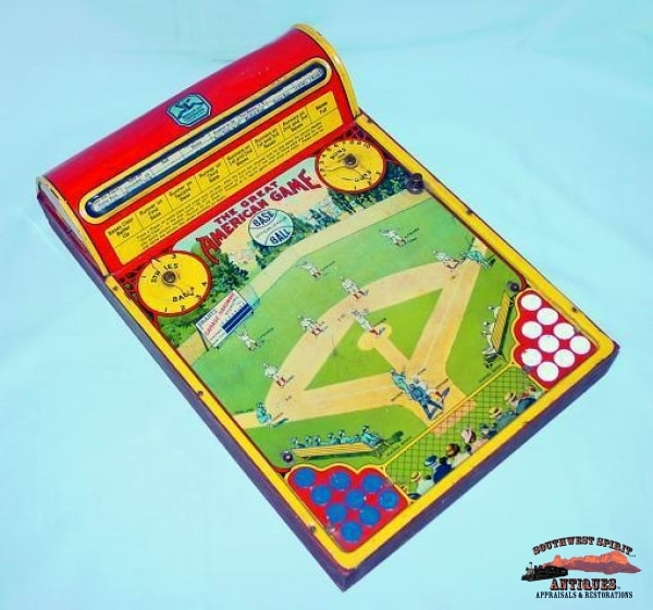 1923 Tin Lithograph Baseball Game Collectibles-Toys-Games