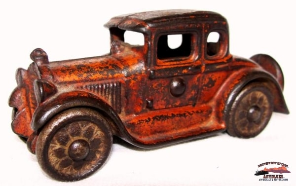 1930S Cast Iron Toy 2 Door Sedan Collectibles-Toys-Games