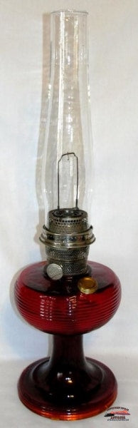 1937-38 Aladdin Ruby Beehive Table Lamp General Store & Lighting