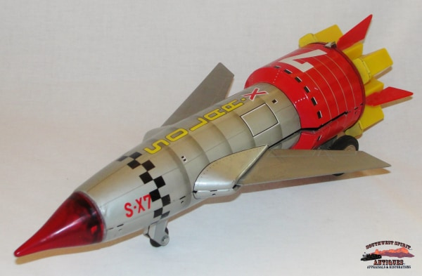 1960S Solar X7 Japan Space Rocket Toy Collectibles-Toys-Games
