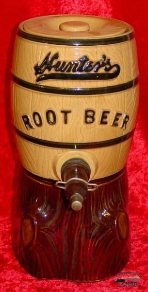 Hunters Root Beer Soda Fountain Syrup Dispenser General Store & Lighting