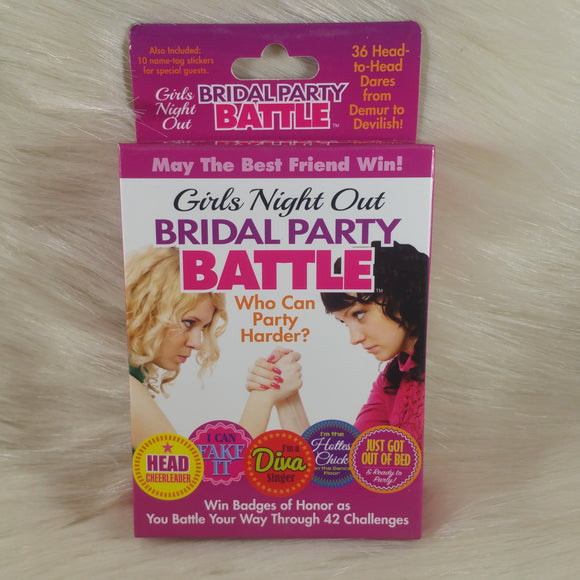 Girls Night Out Bride Party Game
