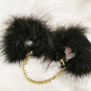 Fine Feather Cuffs