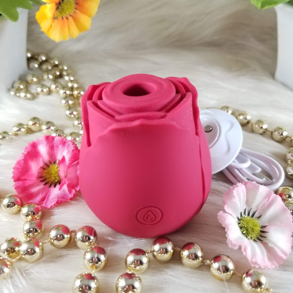 Rose Suction Vibrator