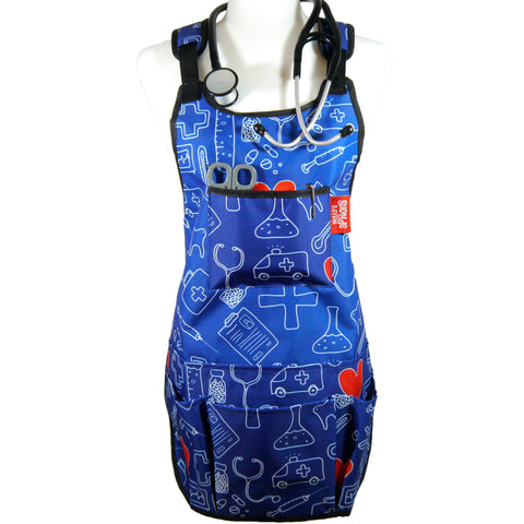 Molly's Cartoon Care Maxi™ Professional Medical Utility Apron