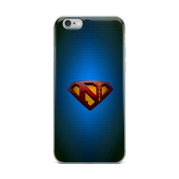 Electric Blue SuperNurse Cell Phone Case (iPhone 6 & up | Samsung 7 & up)