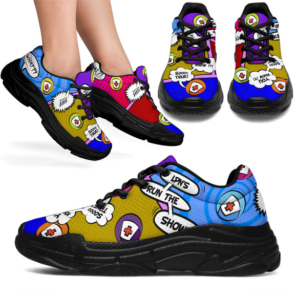 LPN Cartoon Rocker Medic™ Unisex Chunky Sneaker