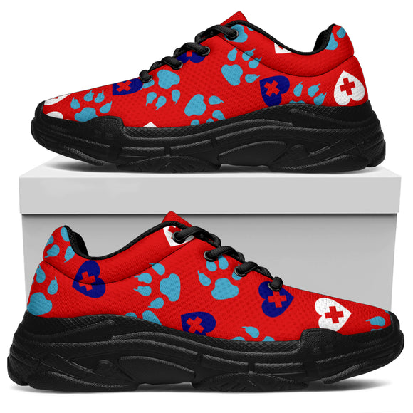 Doggie Hearts Care Chunky Sneaker™ - Unisex (2 Colors)