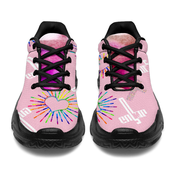 Heart Of Love Spiritual Chunky™ Sneaker - Women's (4 Colors)
