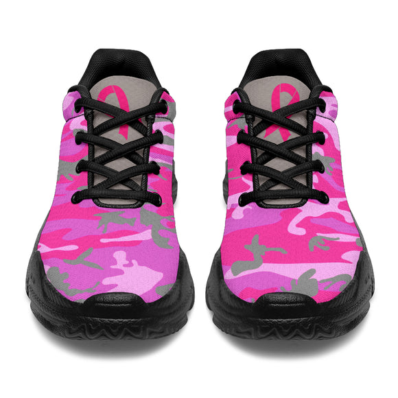 The Pastel Camo Warrior Chunky™ Unisex Sneaker (4 Colors)