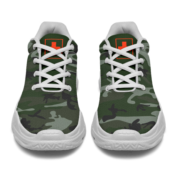 Men's Camo Warrior Murse Chunky™ Sneaker - (4 Colors)