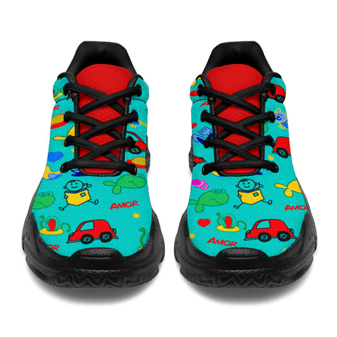 Red Car Go! Chunkies™ Sneaker (4 Styles)