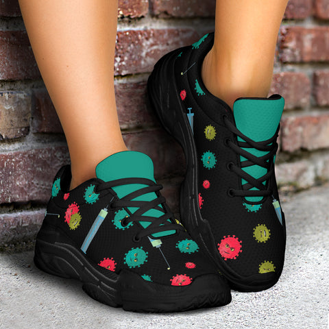 Influenza Flu Shoe Chunky Sneaker™ - Unisex (4 Colors)