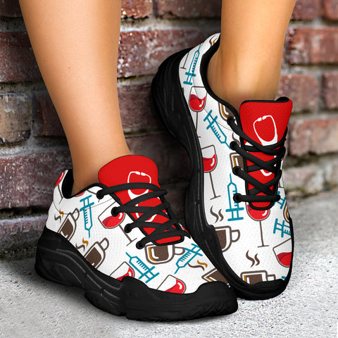 Coffee & Wine Injections Chunky™ Womens Sneaker (More Colors)