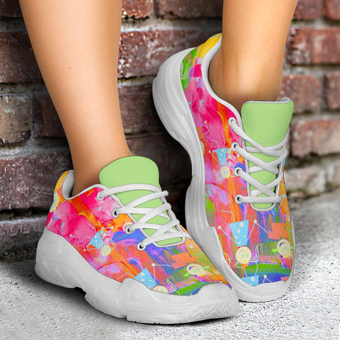 Watercolor Kids Chunky™ Women's Sneaker  (4 Styles)