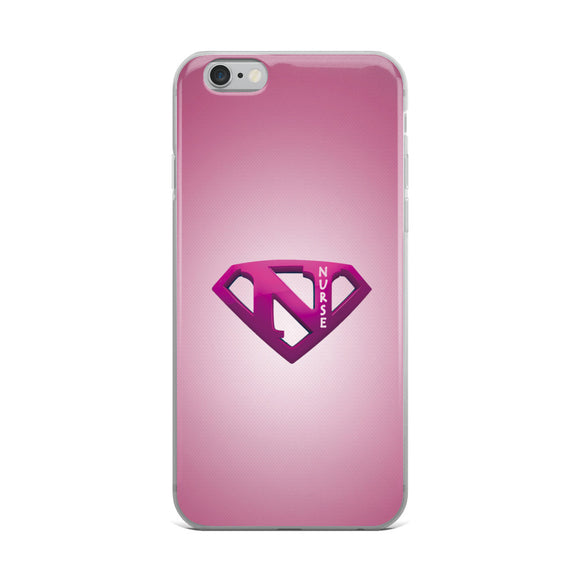 Supernurse Cell Phone Cover - Pink