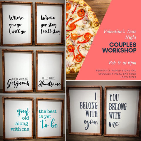 Valentine's Day Night Couples Workshop- Feb 9