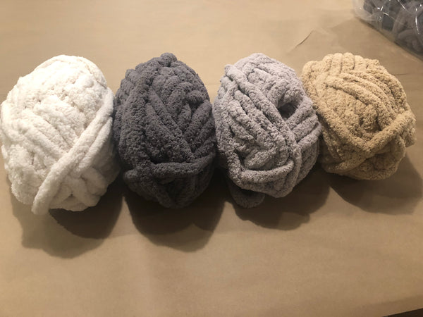 Hand Knit Chunky Blanket Throw Workshop- April 25