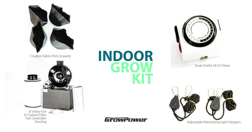 GrowPower Indoor Growing Kit - 6