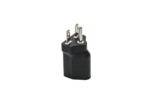 120V to 240V Plug Adapter for Grow Light Fixtures NEMA 5-15P to NEMA 6-15P