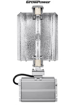GrowPower CMH 630W Grow Light Fixture - Adjustable Hood [120-240V] - GrowPower