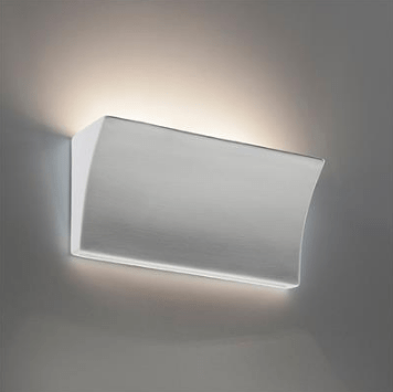Wall Light Raw Ceramic G9 in 18cm or 35cm Domus Lighting