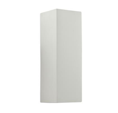 Wall Light Raw Ceramic Twin G9 in 21cm BF-8418 Domus Lighting