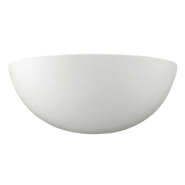 Wall Light Raw Ceramic White E27 in 23cm BF-7310 Domus Lighting | Alpha Lighting & Electrics