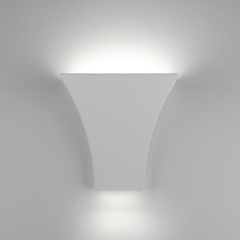 Wall Light Ceramic White G9 in 18cm BF-2013 Domus Lighting