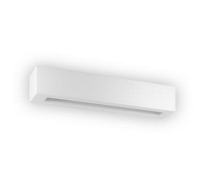 Wall Light Ceramic White G9 in 10cm Domus Lighting