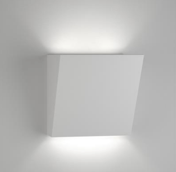 Wall Uplight Ceramic White G9 in 15cm in BF-2601A and BF-2601B Domus Lighting | Alpha Lighting & Electrics