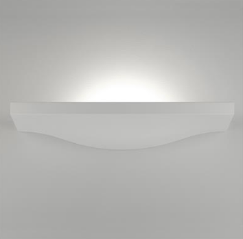 Wall Light Raw Ceramic White G9 in 37cm BF-2607A Domus Lighting | Alpha Lighting & Electrics