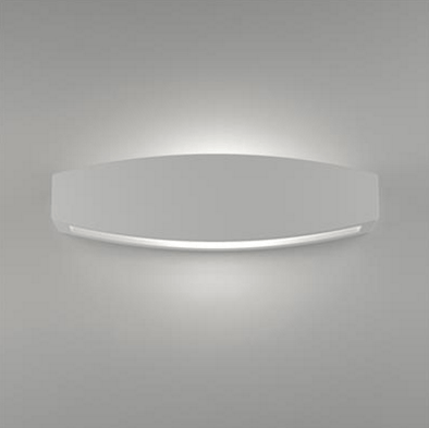 Wall Light Ceramic White Up Down G9 in 36cm BF-2608B Domus Lighting