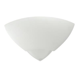 Wall Light Raw Ceramic with Frosted Glass E27 in 30cm BF-7949 Domus Lighting | Alpha Lighting & Electrics