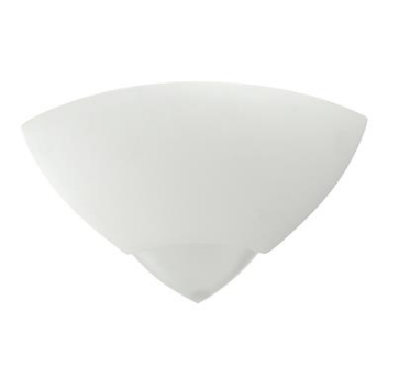 Wall Light Raw Ceramic with Frosted Glass E27 in 30cm BF-7949 Domus Lighting