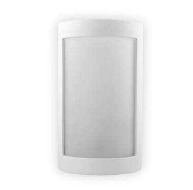 Wall Light Raw Ceramic w Frosted Glass in E27 30cm BF-8202 Domus Lighting