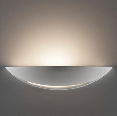 Wall Light Raw Ceramic E27 in 31cm BF-8235 Domus Lighting